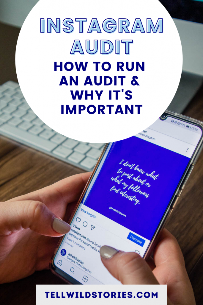 Learn how to run an Instagram audit to evaluate the performance, make improvements and use the platform efficiently for your business.