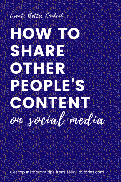 You CAN share other people's content without infringing on their copyright - this post explains how to repost content the right way.