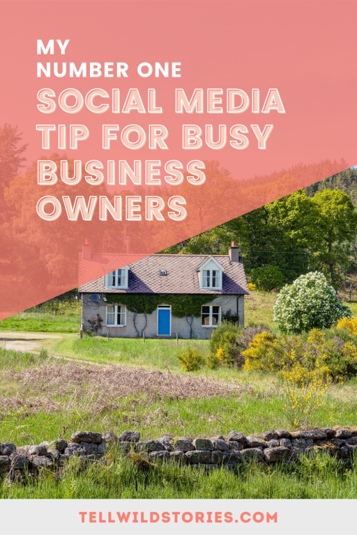Running a small business is neverending but there is never enough time. Here is my number one social media tip to make digital marketing more manageable!