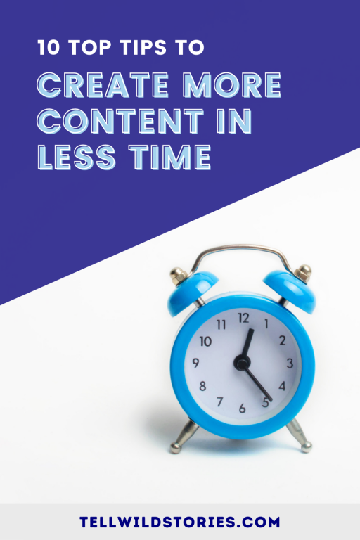 Do you want to create more content in less time? Learn how with my top 10 time management tips for content creation.